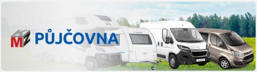 Půjčovna osobní vozy, dodávky, obytné vozy, karavany - MKZ Půjčovna