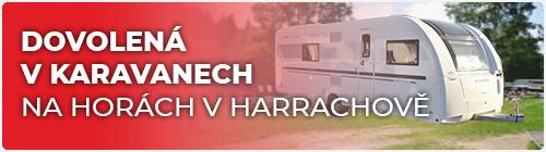 Dovolená na horách v Harrachově – pronájem karavanů v krásné přírodě