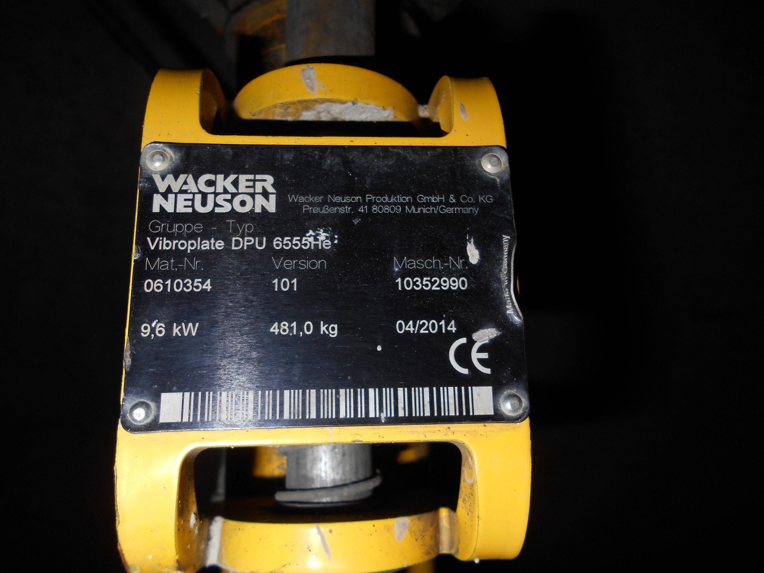 Vibrační deska Wacker 500 Z024 (6)